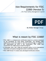 An Overview on FSSC 22000 (Version-5) Documentation Kit
