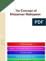 Khataman Nabiyyeen Slides