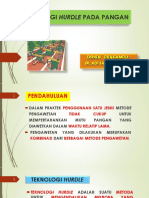 6. TEKNOLOGI HURDLE PADA PANGAN