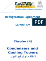 RE-Ch4-Condensers and Cooling Towers by Dr. Wael Aly