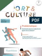 sport et culture ppt