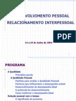 Apresentação sobre Desenvolvimento Pessoal