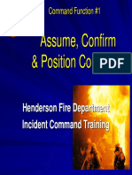 FOC #1 Assume Confirm and Position Command 2nd Edition