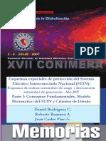 Esquemas especiales de protección del Sistema Eléctrico Interconectado Nacional (SEIN)