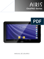 AIRIS OnePAD 900x4 (TAB90Q) - Manual