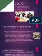 La Educación Socioemocional PPT