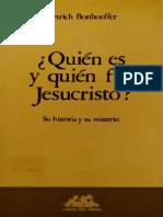 Quien Fue y quien es Jesucristo Bonhoeffereditado.pdf