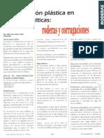 Deformación plástica en capas asfálticas, roderas y corrugaciones - Pedro Castro