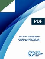 BROCHURE TALLER DE ENEAGRAMA INGENIERIA DEL SER