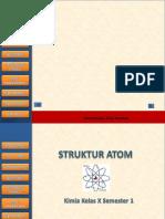 Bahan AjarStruktur Atom Bahan Ajar
