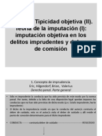 Tipicidad objetiva (II)