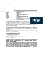 GUIA DE LA ORGANIZACIÓN TERRITORIAL A PARTIR DE LA CARTA POLÍTICA DE 1991