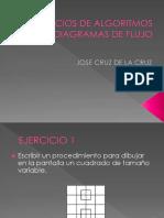 CLASE 2 EJERCICIOS DE ALGORITMOS Y DIAGRAMAS DE FLUJOjose