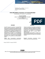interculturalidad y transicion a la transmodernidad