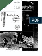 Apollo 15 Preliminary Science Report