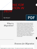 Reasons for Migration in Delhi.pptx