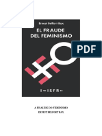 E. BELFORT BAX - A FRAUDE DO FEMINISMO