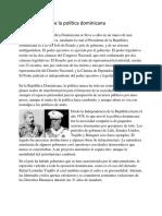 Características de la política dominicana2
