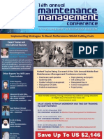 Maintenance Management Conference Program