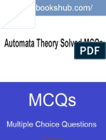 Automata Theory Solved Mcqs