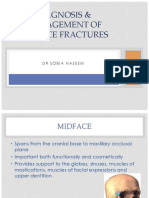Diagnosis & Management of Midface Fractures