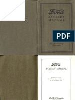Ford Battery Manual