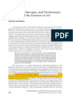 Mannerism, Baroque, and Modernism – Deleuze and the Essence of Art