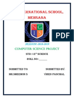 12th Computer Science Project PDF File .pdf