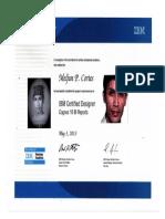 MELJUN CORTES IBM COGNOS Certified 2013