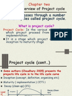 Cahpet II  An Overview of Project cycle