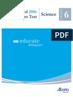 G6 2006 Achievement Test
