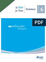 G6 2008 Achievement Test