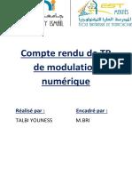 Compte rendu de TP de modulation numérique