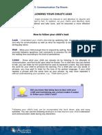 5. Communication tip sheets