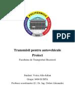 proiect transmisii