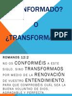 Conformado o Transformado