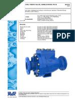 recoil check valve data sheet