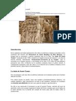 arte románico, relieve monasterio Santo Domingo de Silos