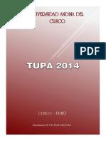 TUPA-UAC-2014