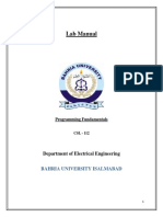 Lab Manual PF