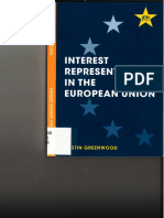 Interest Representation in the EU