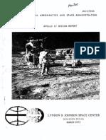 Apollo 17 Mission Report