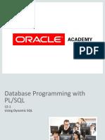 Dynamic SQL Notes