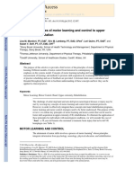 Applying principles of motor learning and control to upper limb rehabilitation_2013.RV