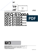 Pioneer Deq-s1000a Crt6281
