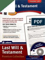 Last Will & Testament Forms