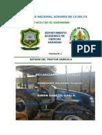 PRACT. N° 3 ESTUDIO DEL TRACTOR AGRICOLA