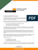 LaserNet SAP Connector UK