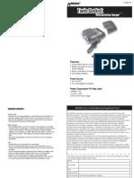 Wagan Tech Twin Socket Battery Charger Operation Manual