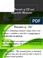 Principle of 5S and Recyclable Materials